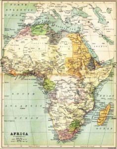 Languages spoken in Africa