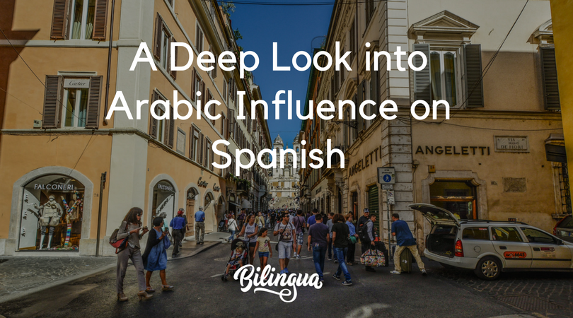 How arabic has influences spanish
