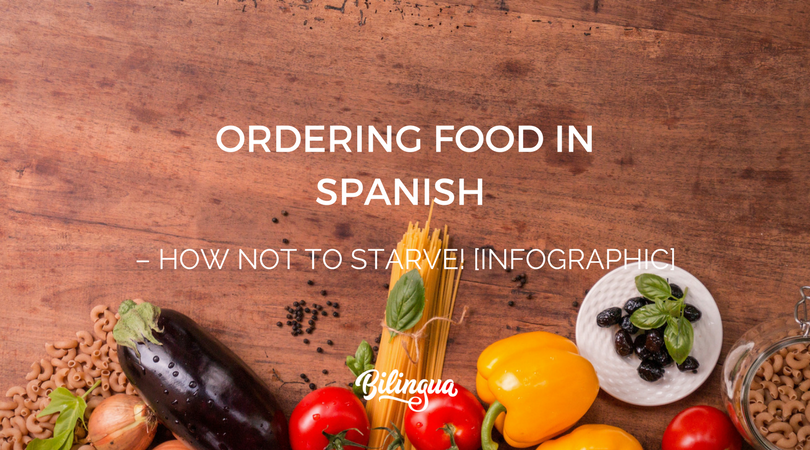 Ordering Food in Spanish – How Not to Starve! [INFOGRAPHIC]