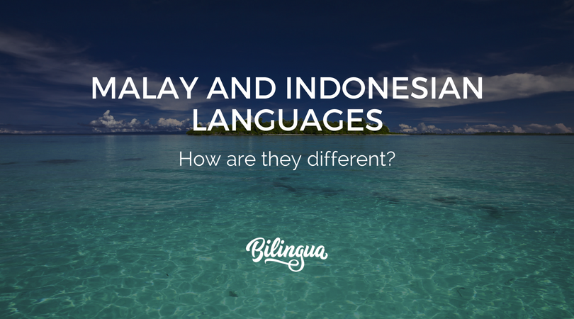 Malay and indonesian language how are they different bilingua malay and indonesian language m4hsunfo